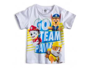 Chlapecké tričko PAW PATROL TEAM bílé