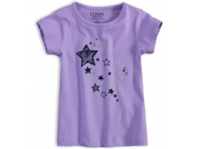 Dívčí tričko LOSAN SPARKLE fialové