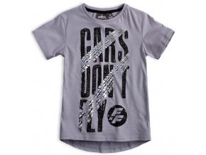 Chlapecké tričko CARS DON´T FLY šedé