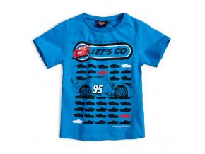 Dětské tričko DISNEY CARS LETs GO modré
