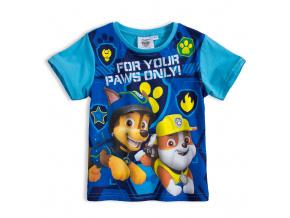 Chlapecké tričko PAW PATROL FOR YOUR PAWS modré