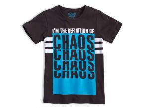 Chlapecké tričko LOSAN CHAOS tmavě šedé