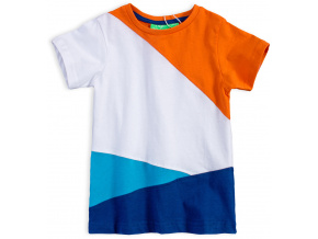 Chlapecké tričko KNOT SO BAD COLOURS bílé
