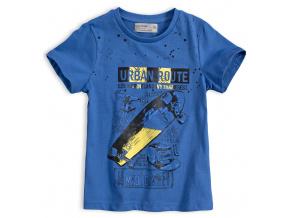 Chlapecké tričko GLO STORY URBAN ROUTE modré