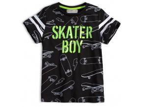 Chlapecké tričko GLO STORY SKATER BOY černé