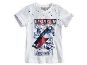 Chlapecké tričko GLO STORY URBAN ROUTE bílé