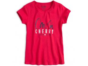 Dívčí tričko LOSAN MON CHERRY červené