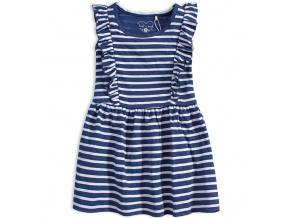 Dívčí letní šaty KNOT SO BAD BLUE SUMMER modré