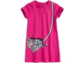 Dívčí šaty KNOT SO BAD GIRL POWER růžové