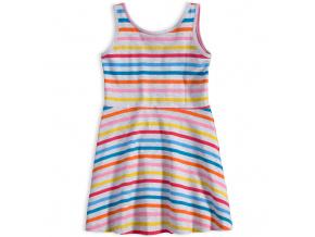 Dívčí šaty KNOT SO BAD COLOUR STRIPE