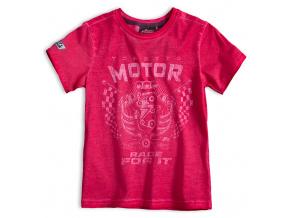 Chlapecké tričko MOTOR červené
