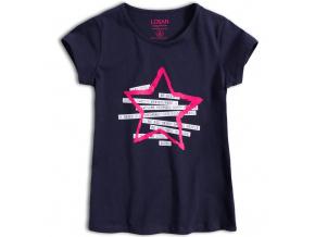 Dívčí tričko LOSAN BE POSITIVE modré