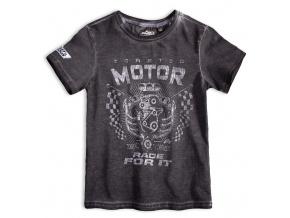 Chlapecké tričko MOTOR šedé