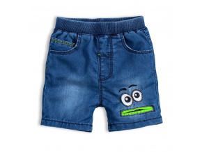 Dětské šortky KNOT SO BAD EYES zelená