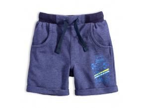 Chlapecké šortky VENERE SKATE modrý melír