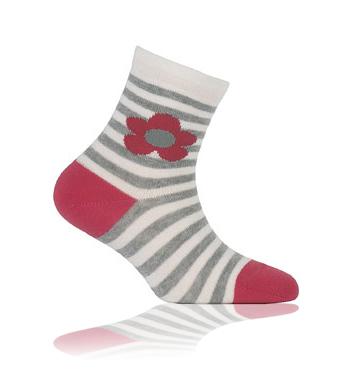 GATTA Dětské ponožky KYTKA Velikost: 21-23