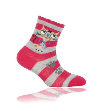 Dětské ponožky GATTA KOČIČKA Velikost: 21-23