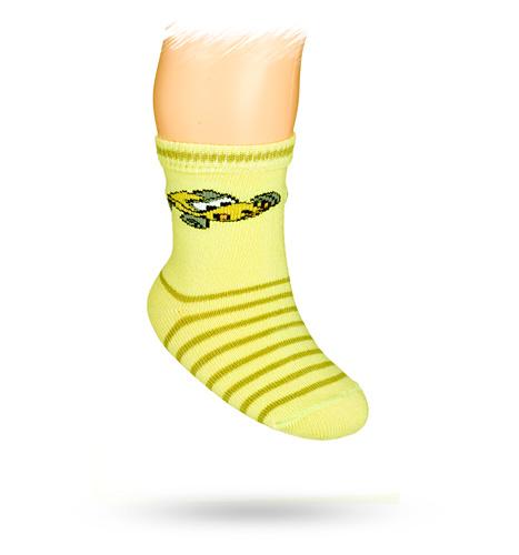 WOLA Kojenecké ponožky s obrázkem FORMULE Velikost: 15-17