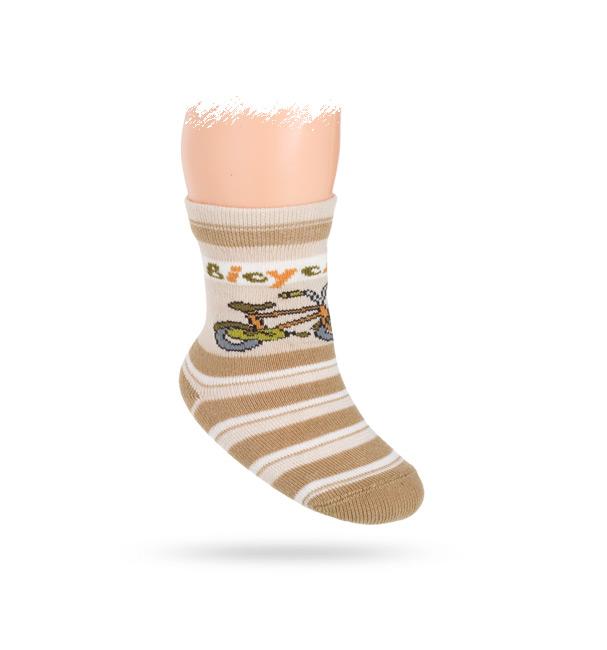 Vzorované ponožky WOLA KOLO Velikost: 15-17