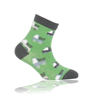 WOLA Dětské ponožky AUTA Velikost: 21-23