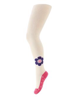 Dívčí vzorované punčocháče GATTA KVĚT Velikost: 92-98