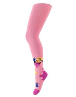 Dívčí vzorované punčocháče WOLA Velikost: 92-98