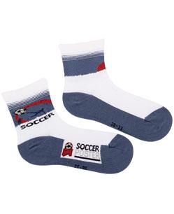 Vzorované chlapecké ponožky GATTA FOTBAL Velikost: 30-32