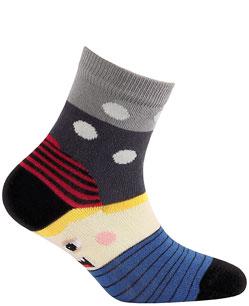 Dětské vzorované ponožky WOLA Velikost: 21-23