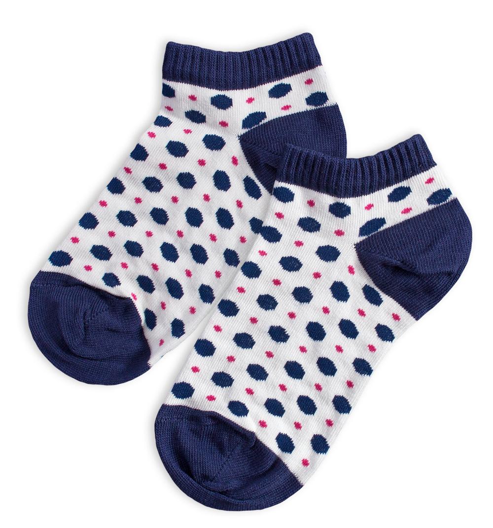 Kotníkové ponožky WOLA PUNTÍKY Velikost  27-29 0fadc68ba0