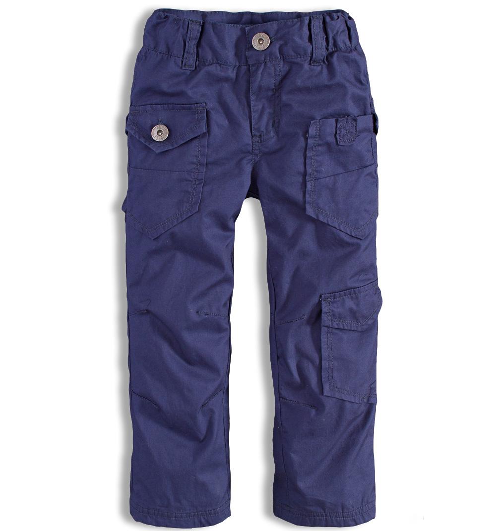 Dětské zateplené kalhoty DIRKJE modré Velikost: 86