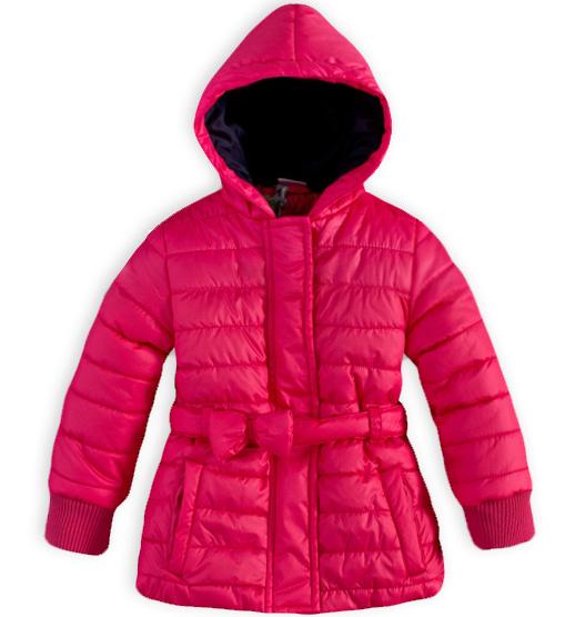 Dívčí zimní bunda DIRKJE SCARLET tmavě růžová Velikost: 56 Dirkje