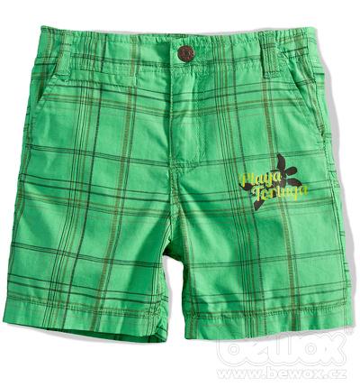Chlapecké šortky BOYSTAR zelené Velikost: 152