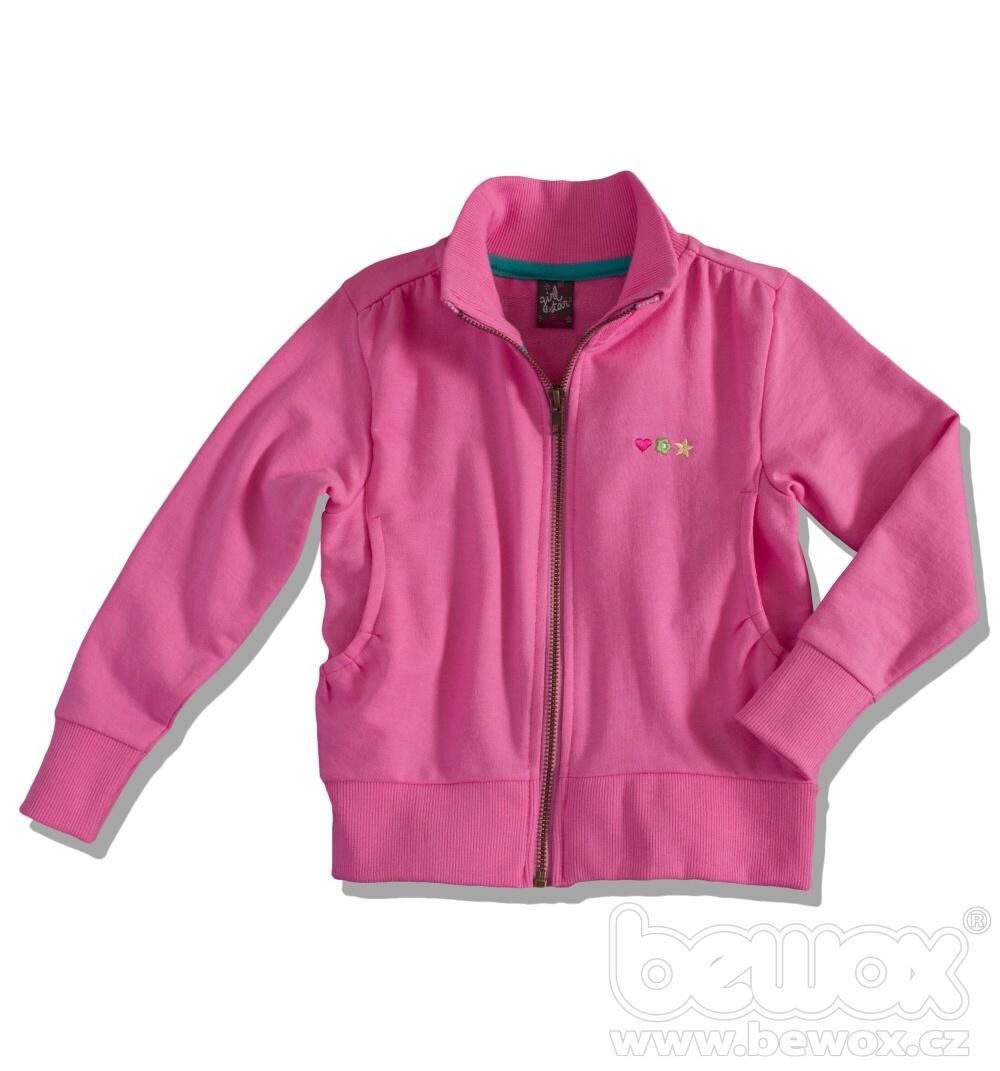 Dívčí mikina GIRLSTAR růžová Velikost: 104