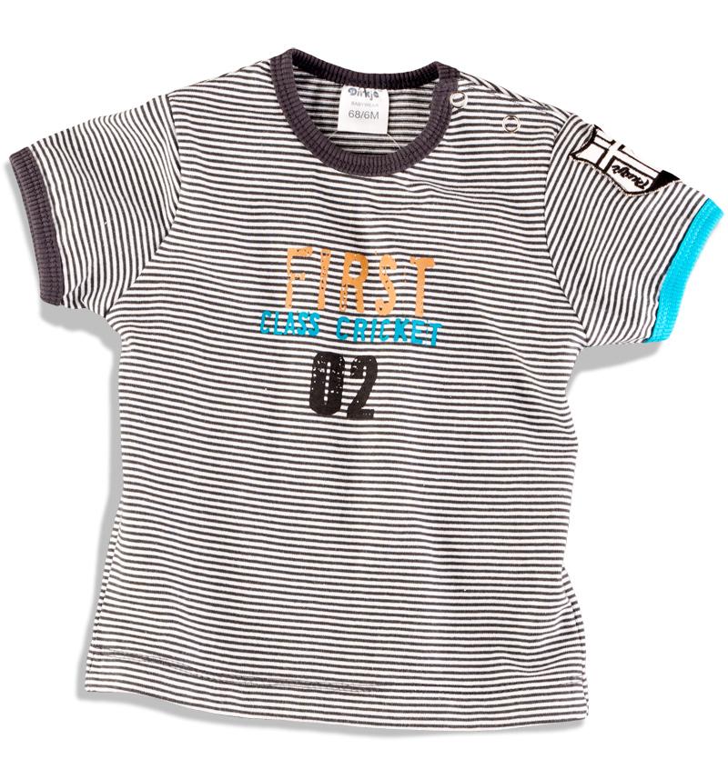 DIRKJE Tričko s nápisem FIRST CLASS Velikost: 62