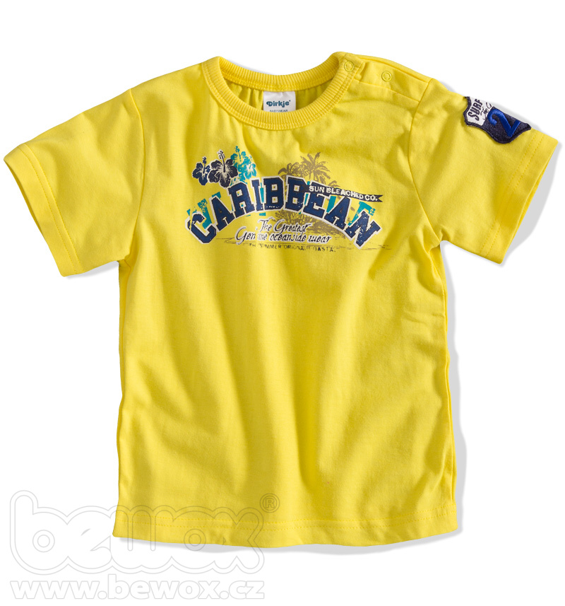 DIRKJE Kojenecké tričko s nápisem Velikost: 62 Dirkje