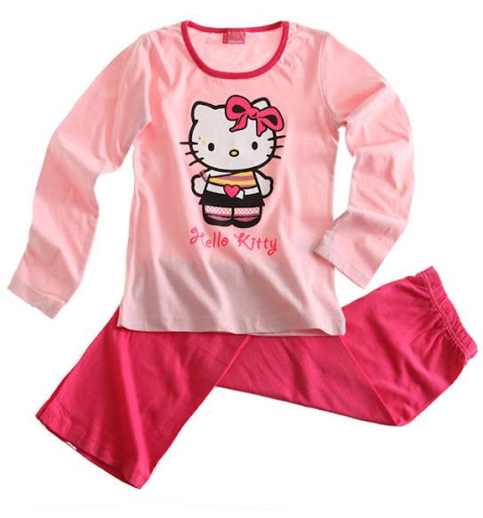 Dívčí pyžamo HELLO KITTY Velikost: 152