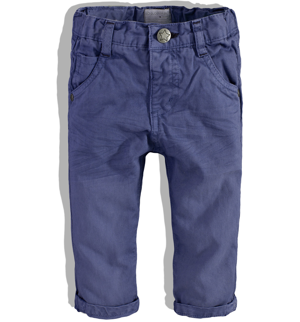 Kojenecké kalhoty Babaluno FOX tmavě modré Velikost: 62-68