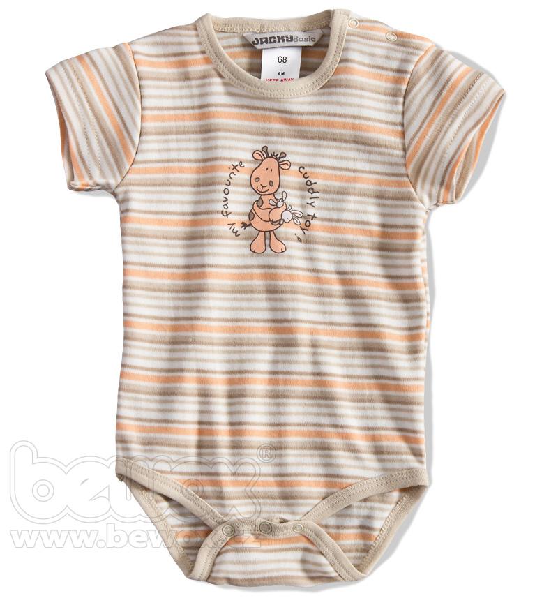 Kojenecké body krátký rukáv JACKY BABY Velikost: 56