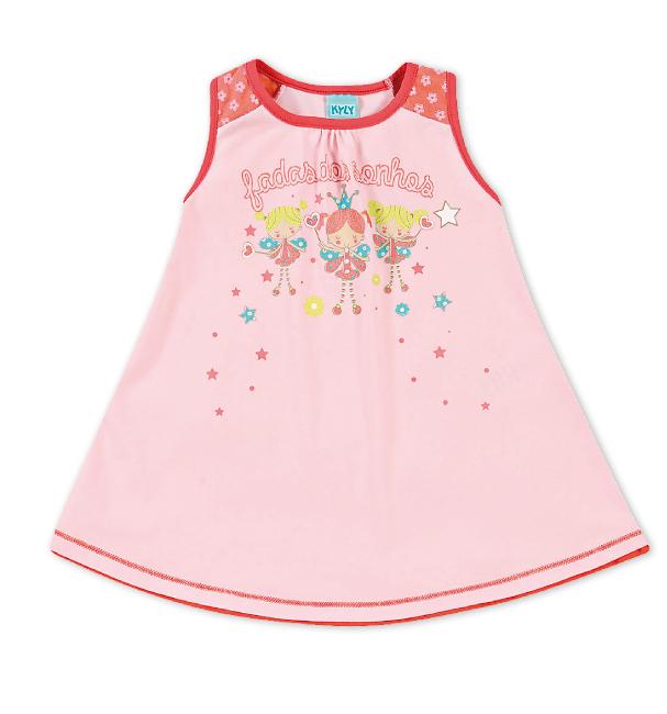 Dětská noční košile Kyly PRINCEZNY růžová Velikost: 92