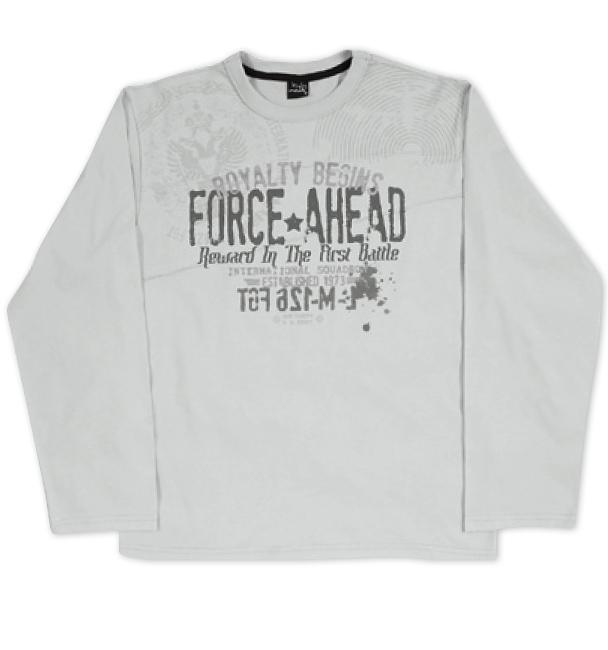 Chlapecké triko KYLY šedé Velikost: 164