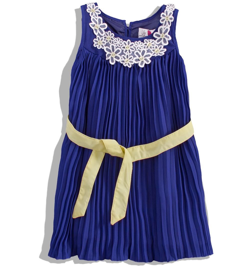 730dc8b747e MINOTI Dívčí plisované šaty Lily Lola Velikost  110-116