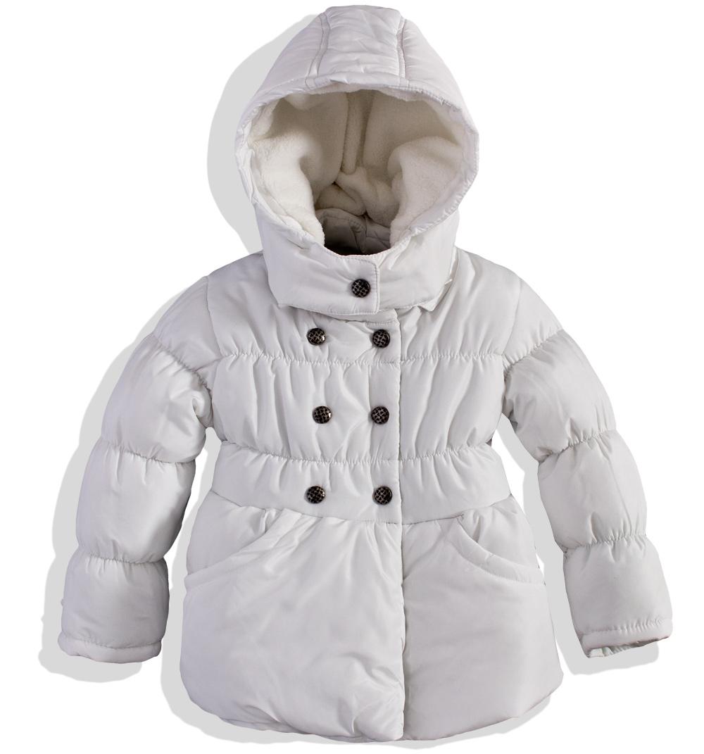 Dívčí zimní bunda MINOTI ROSE bílá Velikost: 98-104 Minoti