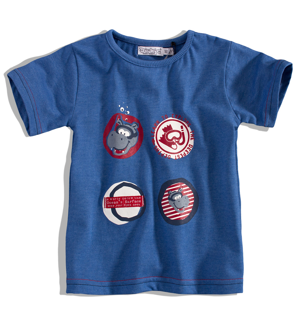 88cdd76de94 Dětské tričko DIRKJE Velikost  86