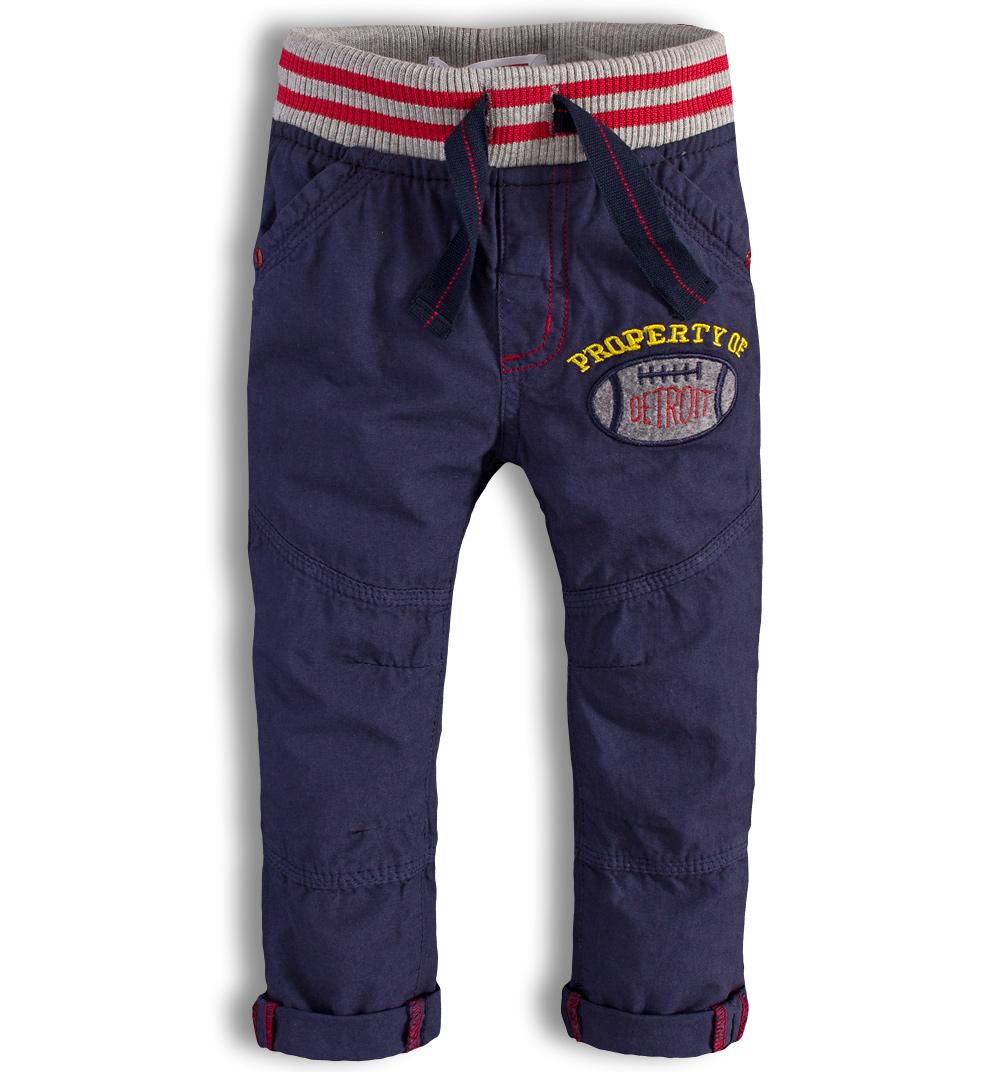 Kojenecké kalhoty Minoti DETROIT modré Velikost: 74-80