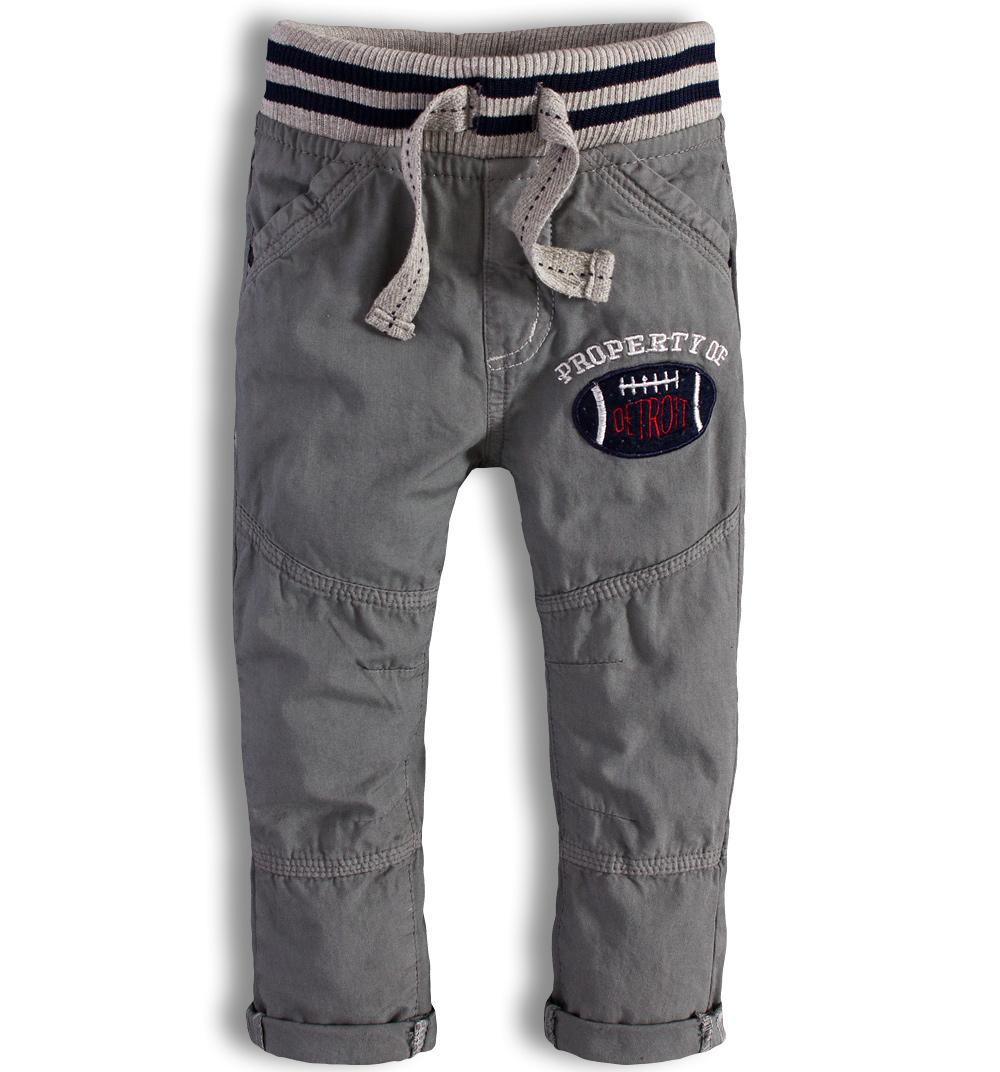 Kojenecké kalhoty Minoti DETROIT šedé Velikost: 74-80