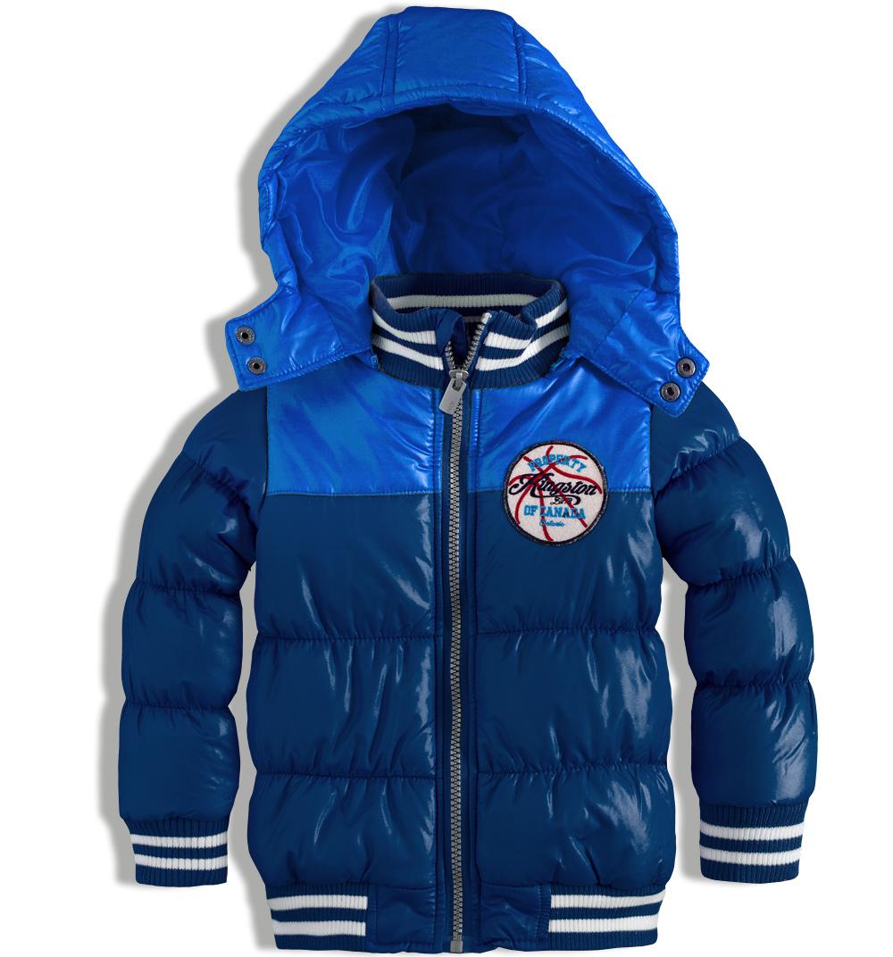 Chlapecká zimní bunda MINOTI EAST modrá Velikost: 92-98