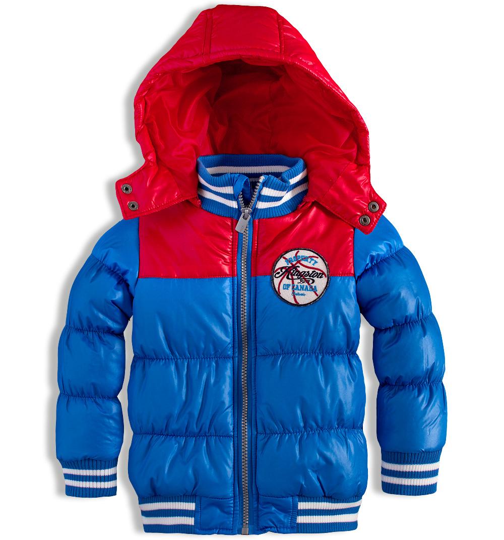 Chlapecká zimní bunda MINOTI EAST červená Velikost: 92-98