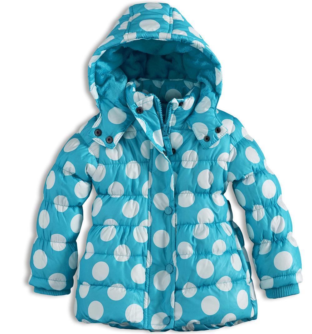 Kojenecká dívčí zimní bunda MINOTI GLITTER modrá Velikost: 74-80 Minoti