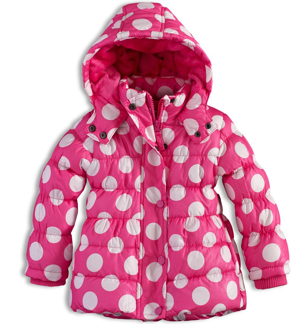 Dívčí zimní bunda MINOTI GLITTER růžová Velikost: 74-80 Minoti