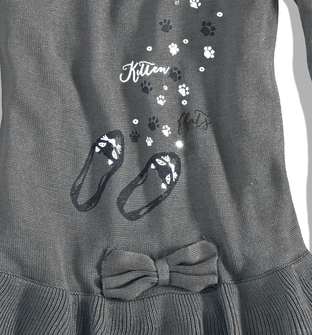 Dívčí pletené šaty MINOTI KITTY Velikost: 92-98